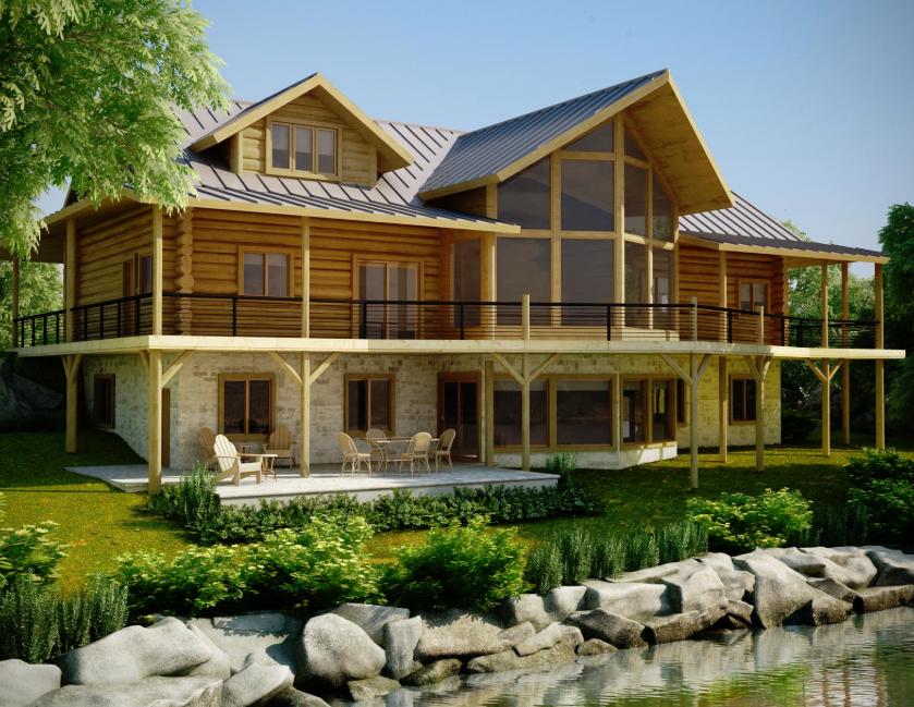5 ph tech maison en bois